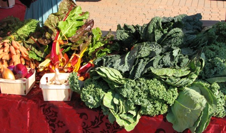 Organic produce from Eater's Guild