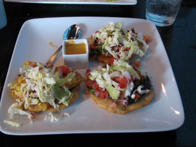 Yucatec Salbutes for lunch