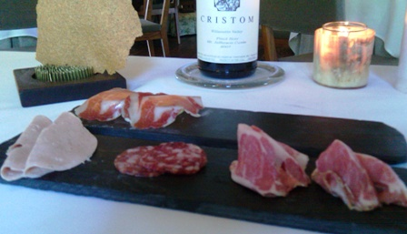 Bologna, Pancetta, and Capicola from the Stone Barns Charcuterie