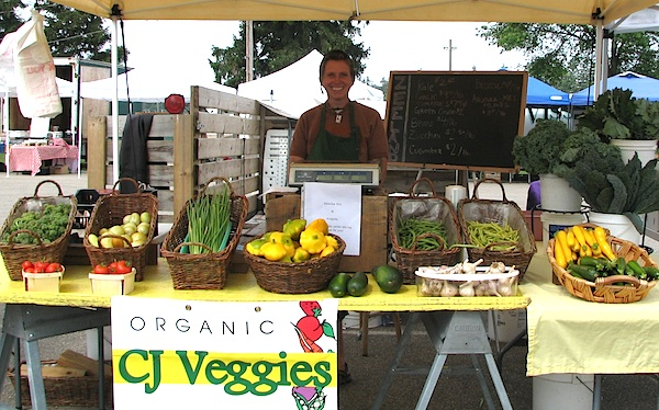 CJ Veggies at Park Township Farmers Market