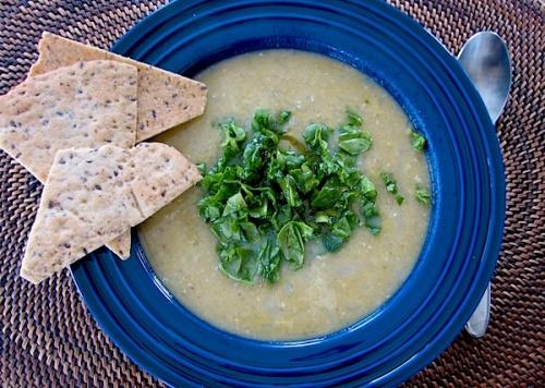 Shourba Ads, or Red Lentil Soup