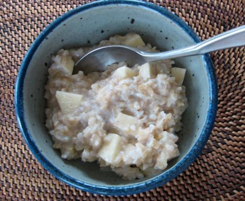 Nutty Rice Porridge