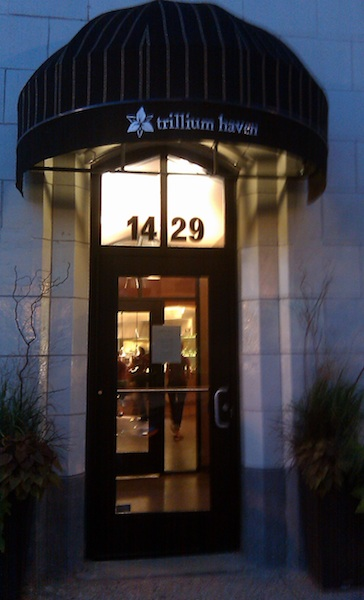 Trillium Haven restaurant, Grand Rapids, Michigan