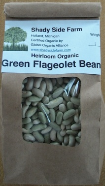 Flageolet Beans from Shady Side Farm