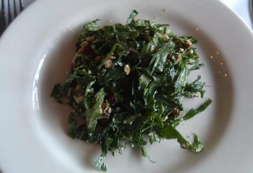 Oxford Farm Kale Salad, Poteger Restaurant, Denver, Colorado