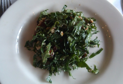 Oxford Farm Kale Salad, Poteger Restaurant, Denver, Colorado