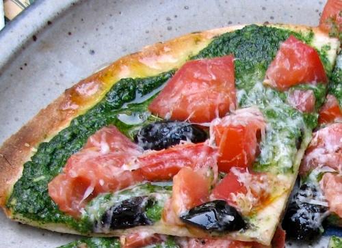 Spring Lavash Pizza recipe
