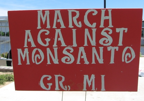 March Against Monsanto, Grand Rapids, Michigan