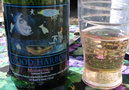Moonstruck sparkling wine from Good Harbor Winery