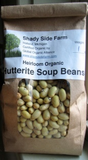 Hutterite Beans from Shady Side Farm