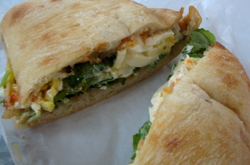 Egg Salad Artisan Sandwich, Farmhouse Deli